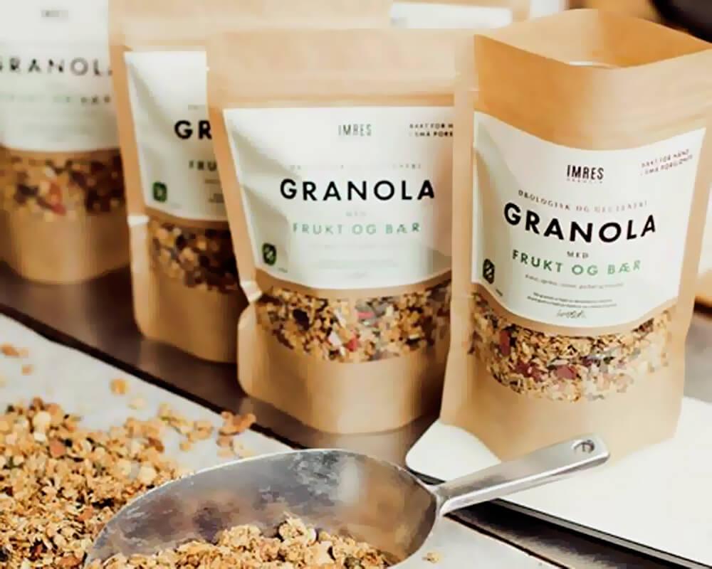 Embalagem de Granola