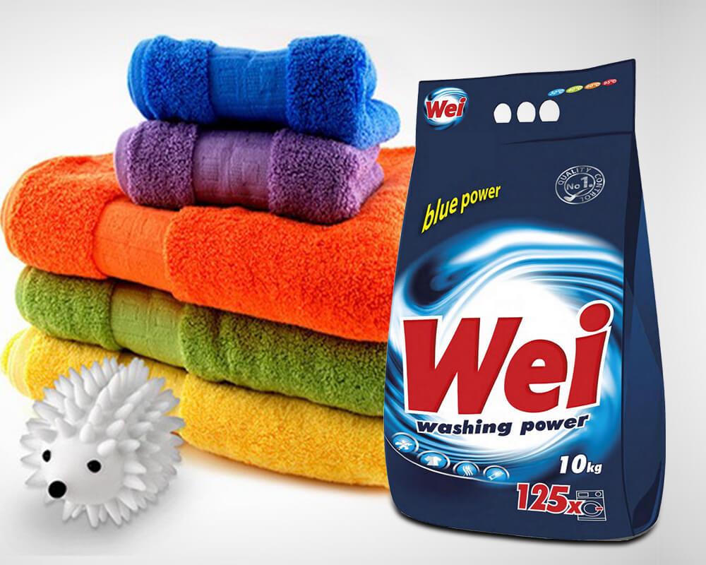 Embalagem de detergente