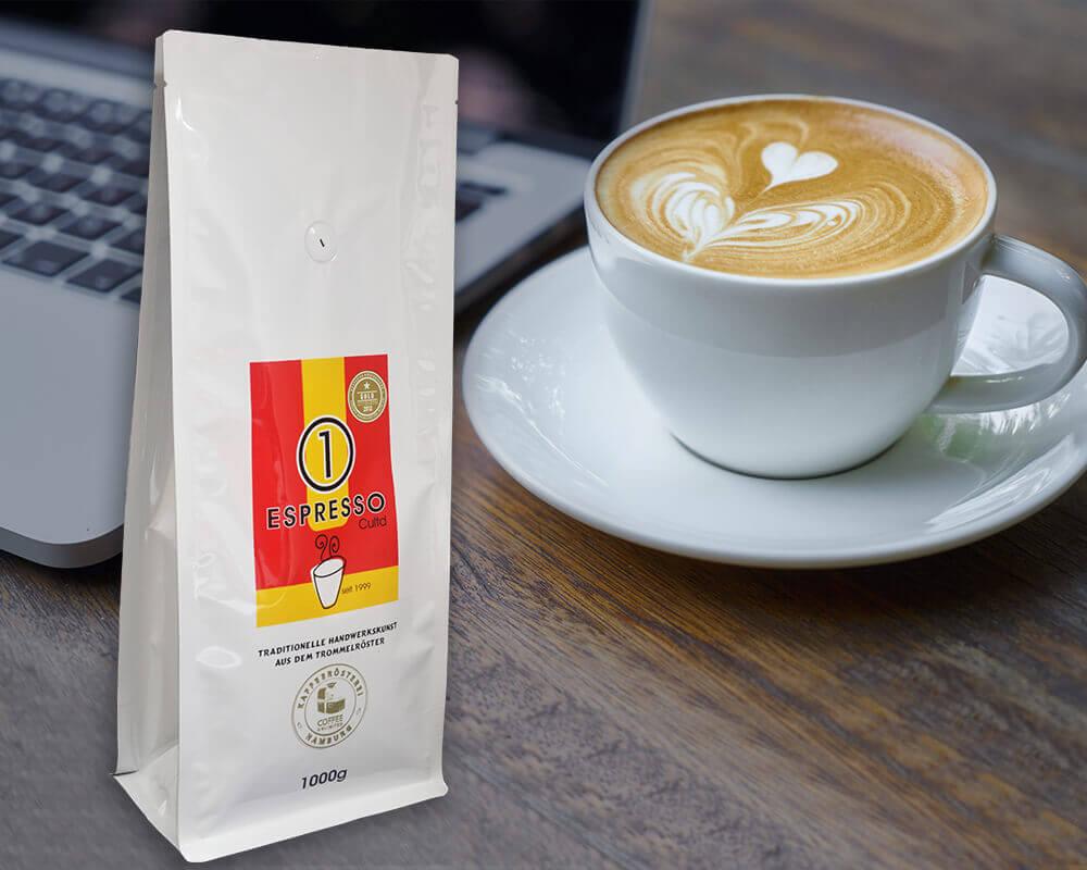 Embalagem de café expresso