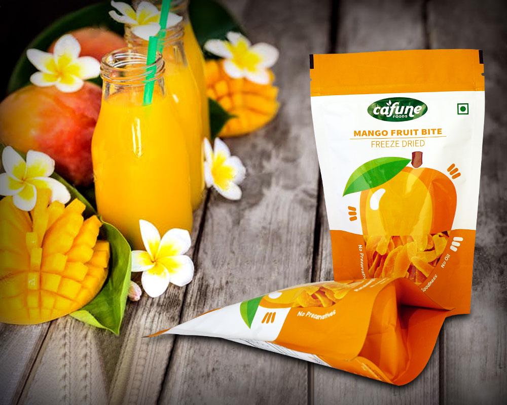 Embalagem de Frutas Secas