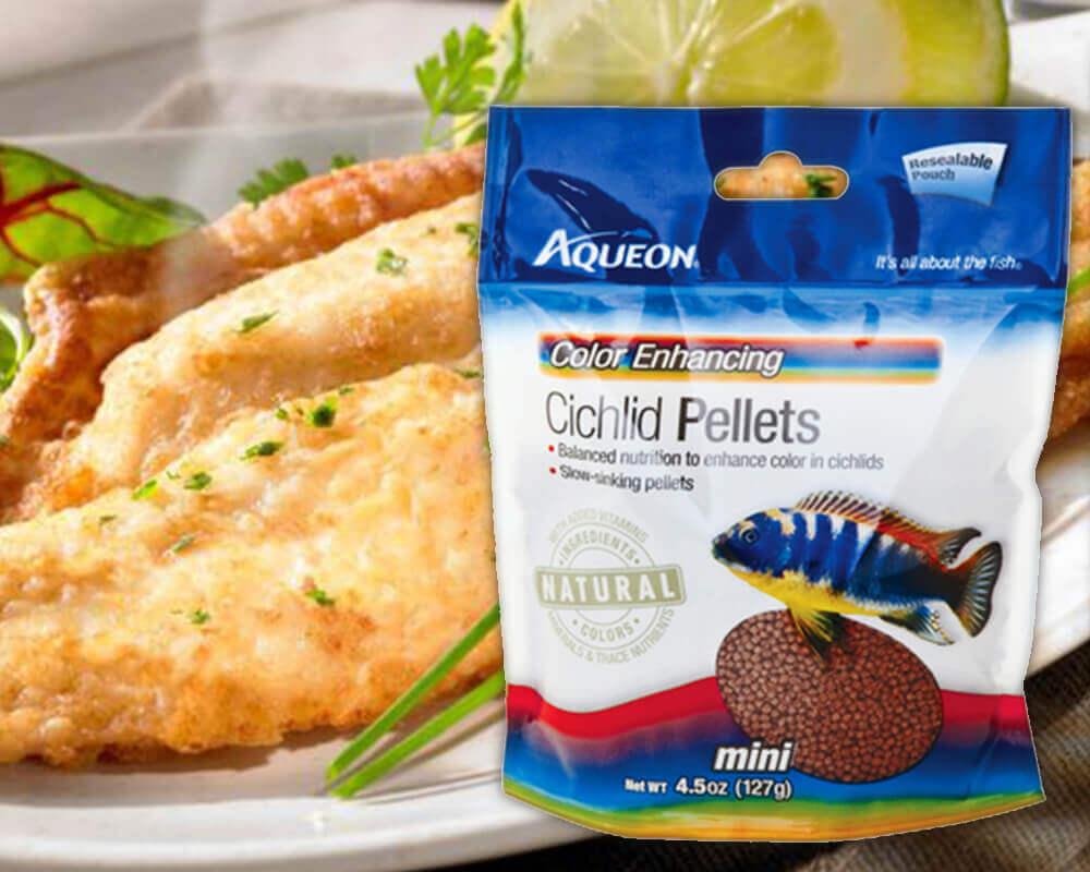 Aqueon cichlid pellets