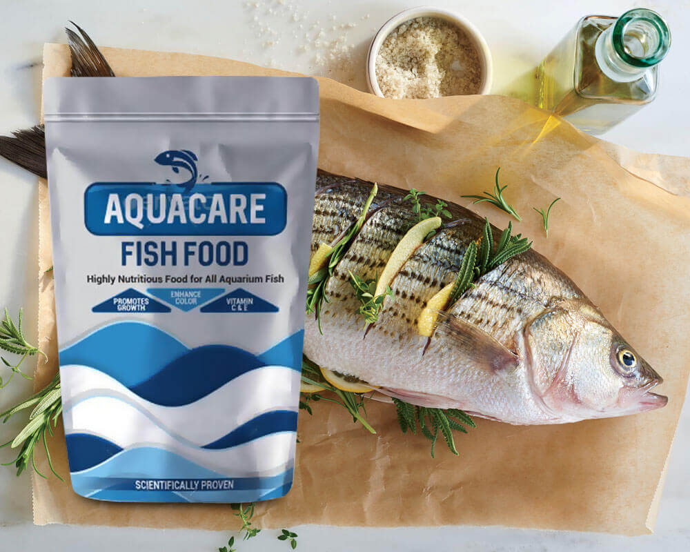 Comida de peixe Aquacare
